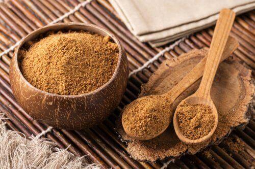 sokerin voi korvata kookossokerilla