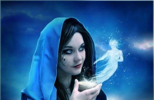 nainen ja henki