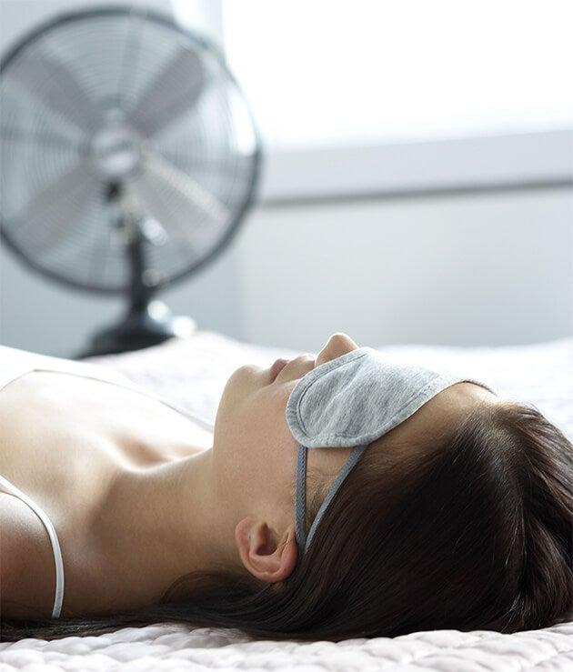Hyödyllisiä vinkkejä nukkumiseen kun on hyvin kuuma