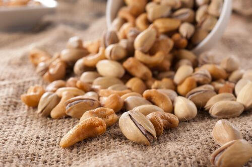 pähkinät eivät ole suositeltua ruokaa liikunnan jälkeen