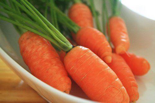 pikkuiset porkkanat auttavat ehkäisemään ikääntymisen merkkejä