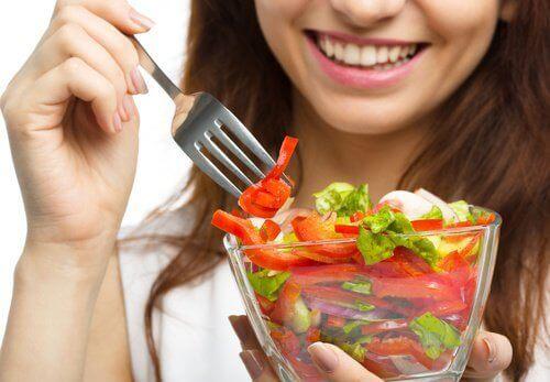 terveellinen ruoka nesteturvotuksen ehkäisyyn