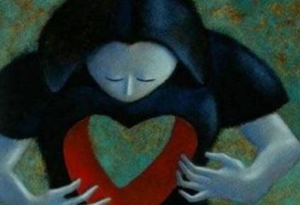 sydämessä aukko