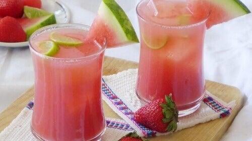 Pysy ihannepainossasi vesimelonin avulla