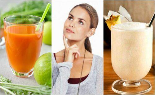 Vahvista muistia näiden 5 luonnollisen smoothien avulla