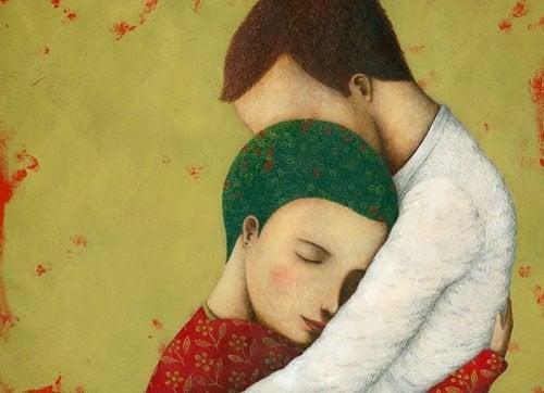 Kestävä rakkaus rakentuu vähitellen.