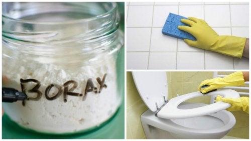 8 keinoa käyttää booraksia kotona
