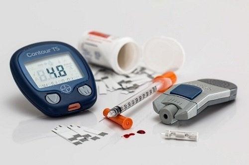punakaalia diabeteksen hoitamiseen