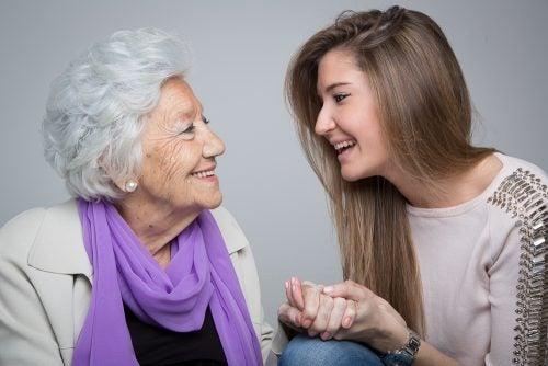 lastenlapset ja isoäidit