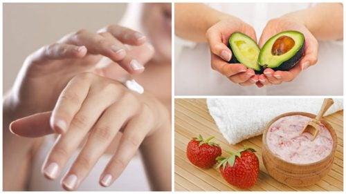 Estä käsien ryppyyntymistä 5 kotihoidolla