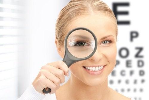 punakaalia näkökyvyn parantamiseen
