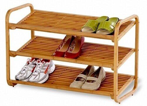 kenkien säilytys