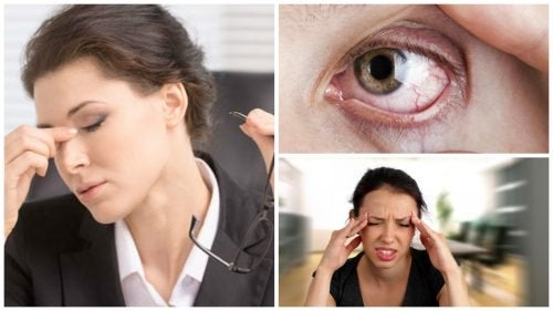 8 oiretta joista tunnistaa rasittuneet silmät