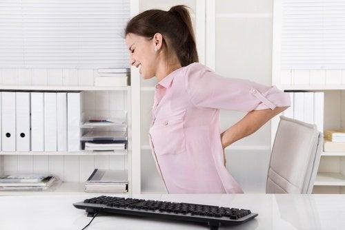 selkäsärky töissä