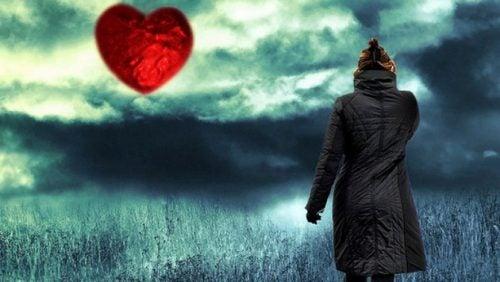taivaalla on sydän