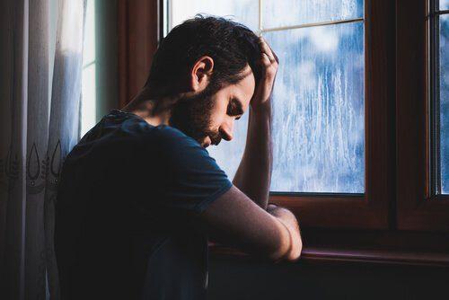 masentunut mies