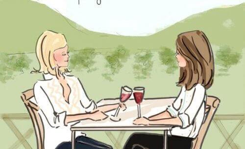 naisten välinen ystävyys