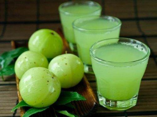 Amblapuun hedelmät edistävät veren terveyttä.