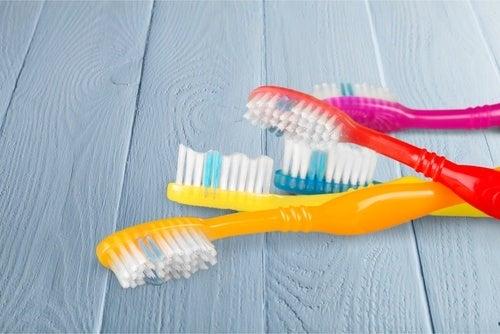 hammasharjat ovat täynnä bakteereja