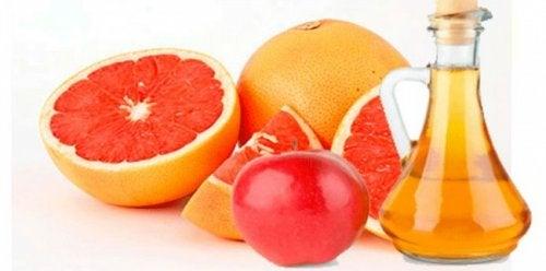 Juoma appelsiinista, mintusta ja omenaviinietikasta auttaa laihtumaan.