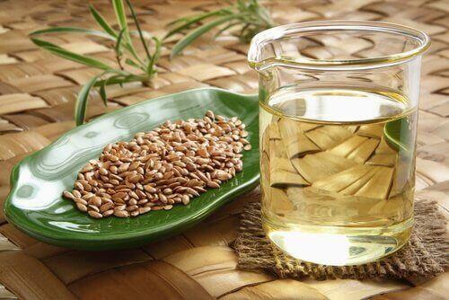 pellavansiemenet ja pellavansiemenöljy