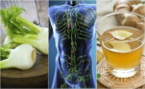 Puhdista lymfajärjestelmäsi näillä 6 luonnollisella hoitokeinolla