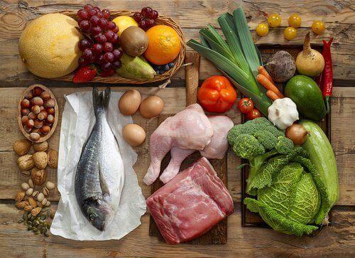 terveellistä ruokaa