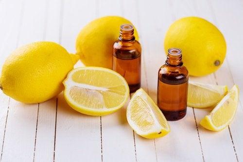 sitruunaöljy allergiaoireiden hillitsemiseen