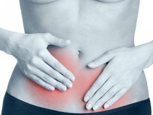 Oireet suoliston kasvuston vahingoittumisesta