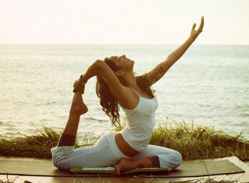 Jooga auttaa palauttamaan sielun lihaksen tasapainon.