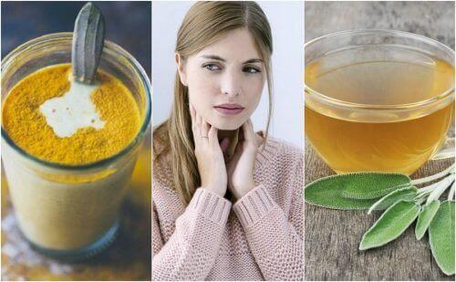 Kuinka hoitaa kipeää kurkkua 6 luonnollisen ainesosan avulla