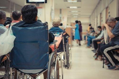 sairaalan odotushuone