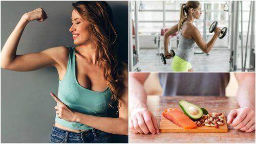 5 tapaa, jotka sinun tulisi omaksua jos haluat lisää lihasta luonnollisesti