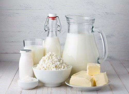 vältä turvotusta äläkä syö maitotuotteita