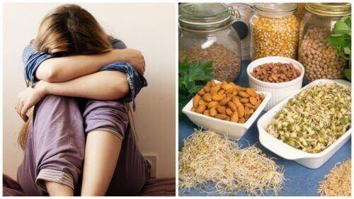 Ravinnepuutokset, jotka aiheuttavat masennusta