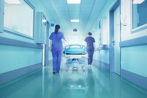 sairaanhoitajat sairaalassa