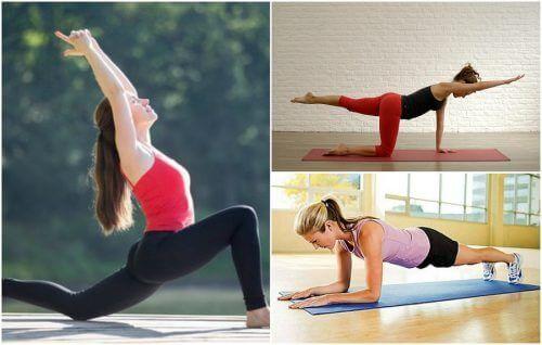 5 parasta harjoitusta selän vahvistamiseksi