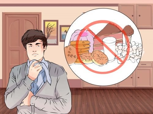 elimistön puhdistaminen eliminoiden epäterveelliset ruoat