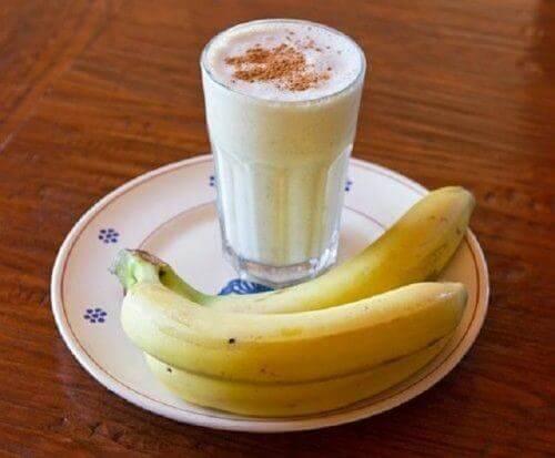 torju unettomuutta banaanismoothien avulla