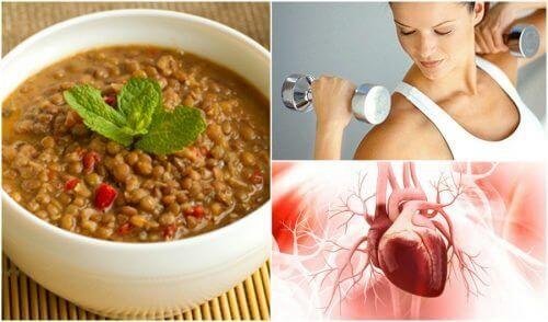 Linssien 8 merkittävää hyötyä elimistölle