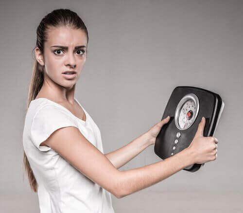 Nopea painon putoaminen voi olla merkki korkeasta verensokerista.