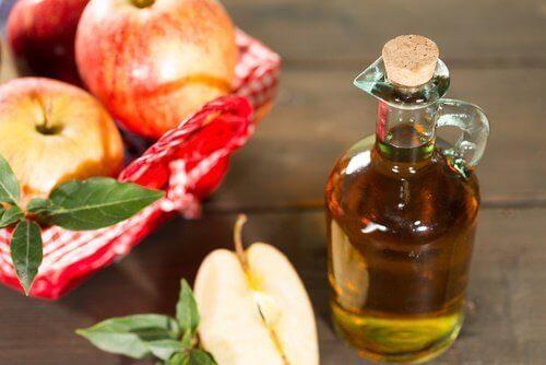 omenaviinietikka ja liiallinen virtsahappo