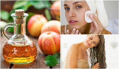 Omenaviinietikka kauneudenhoidossa – kauneuden salaisuus