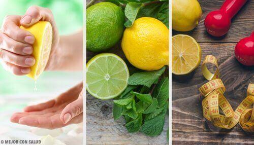 Hyödynnä sitruunoita näillä 11 tavalla