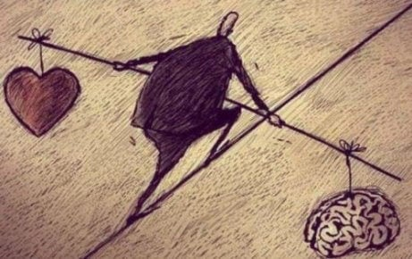 tasapainottelua aivojen ja sydämen välillä