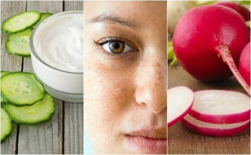 Vähennä läiskiä kasvojen iholla 5 luontaishoidon avulla