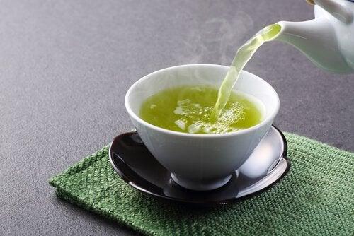 vihreä tee polttaa rasvaa