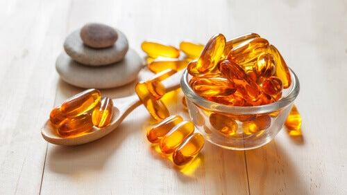 E-vitamiini auttaa ehkäisemään oksidatiivista stressiä.