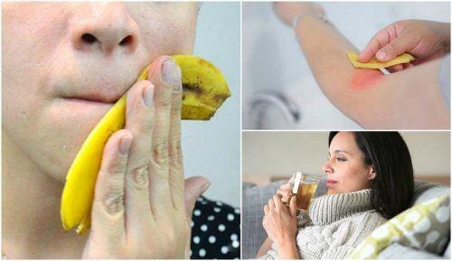 8 kiehtovaa tapaa käyttää banaaninkuoria