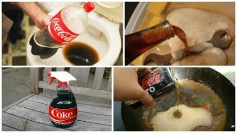 8 yllättävää tapaa käyttää Coca-Colaa kotona